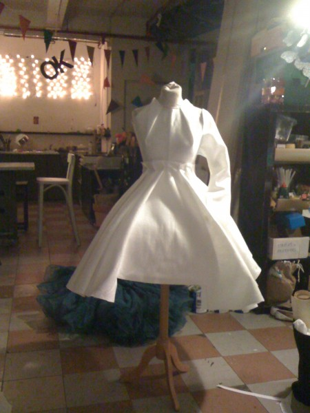prototype dress- working out the length and pattern