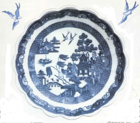 Our design process started with the english myth of the oriental of the willow pattern