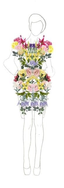flower dress short sleeve