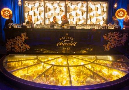 The Golden bar and dancefloor
